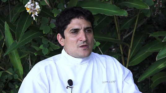 Interview du Chef Mauro Colagreco - Cuisine et Santé XXIe. siècle