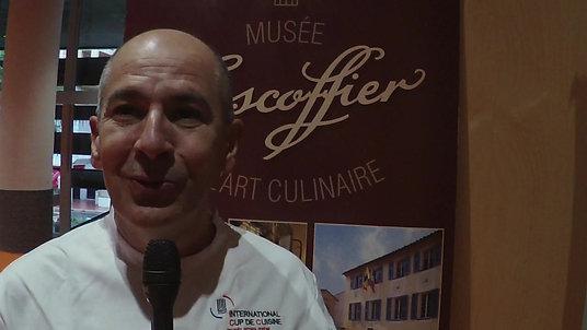 Interview du Chef Christian Garcia