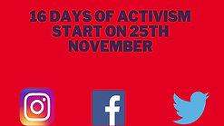 16 Days Activism 2020