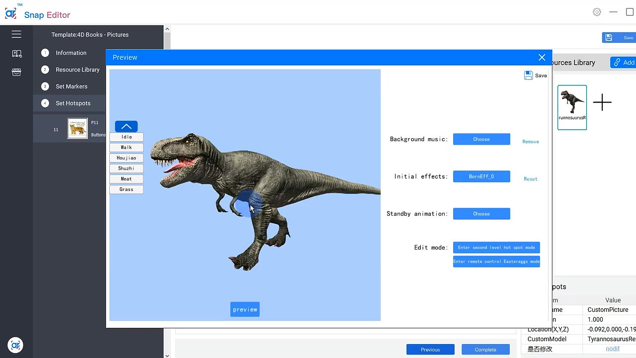 Editing 3D Model