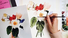 Spring Botanicals Watercolor Workshop