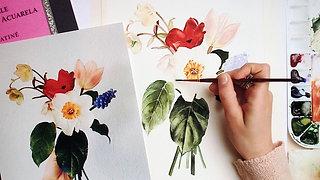 Spring Botanicals Watercolor Workshop