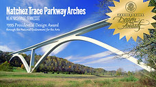 World Art Day_Natchez Trace Parkway Arches