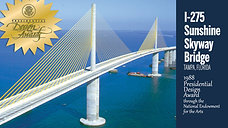 World Art Day_I-275 Sunshine Skyway Bridge