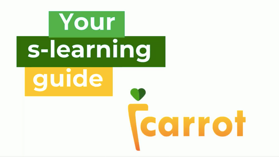 How to sLearn with Carrot Learning