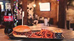 New Pulled Pork Burger Advert
