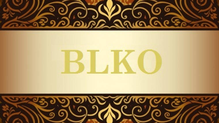 BLKO - Do Balakobako  Corsets