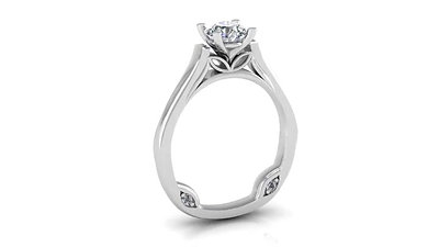 Tom Kohl Solitaire Rings