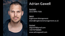 Adrian Gawell, showreel, 2019