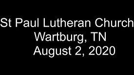 Sunday August 2nd 2020