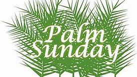 Palm Sunday April 5th