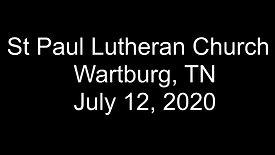 Sunday July 12, 2020
