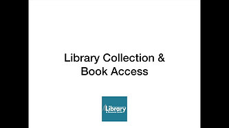 Library Collection and Book Access