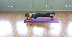 Plank Kickbacks