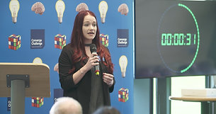 Dr Holly Butler at Converge Challenge: Ready, Steady, Pitch! 2017