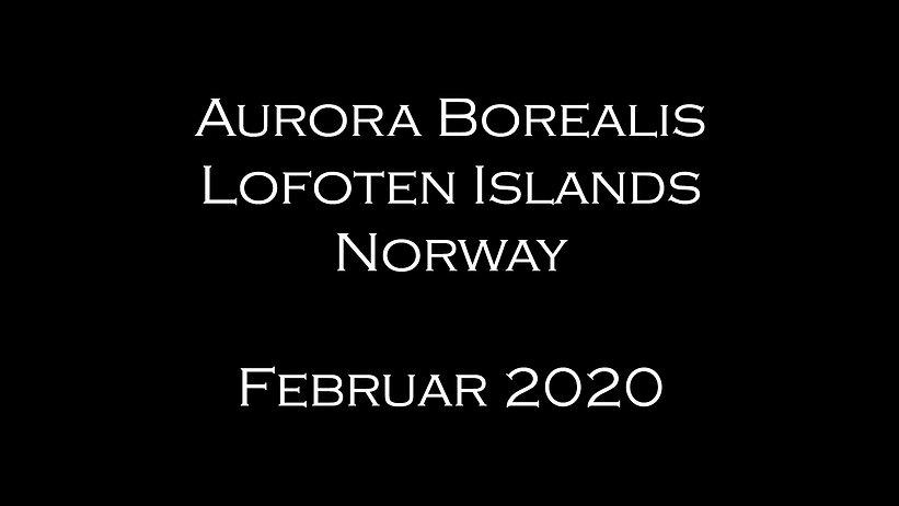 Aurora Borealis 2020