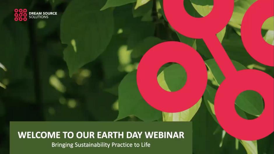 "Earth Day Webinar - ESG Focus on the ""E"""