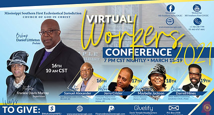 Workers Conference_Wed. Night Service