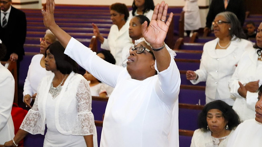 Greater Deliverance Sunday Worship  Service
