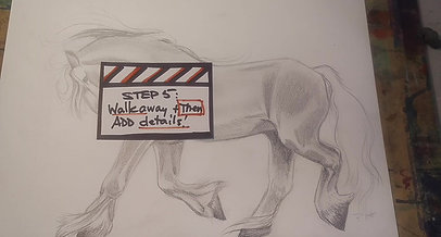 Drawing a Horse_Step 5