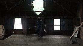 Rashaan & bass in Barn