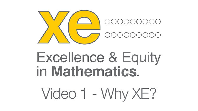 XE Video 1 - 'Why XE?'