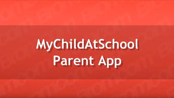 MyChildAt School Parent App Quick Guide