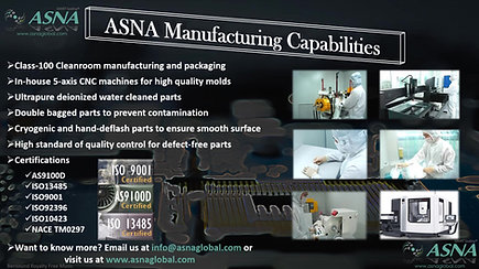 ASNA Manufacturing Capabilities