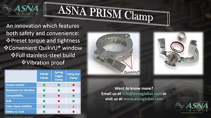 ASNA PRISM oneKit® and QuikVU® Clamp