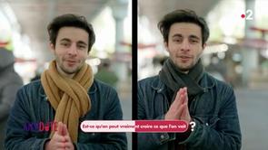 La cécité au changement - Antidote sur France 2 avec Michel Cymes