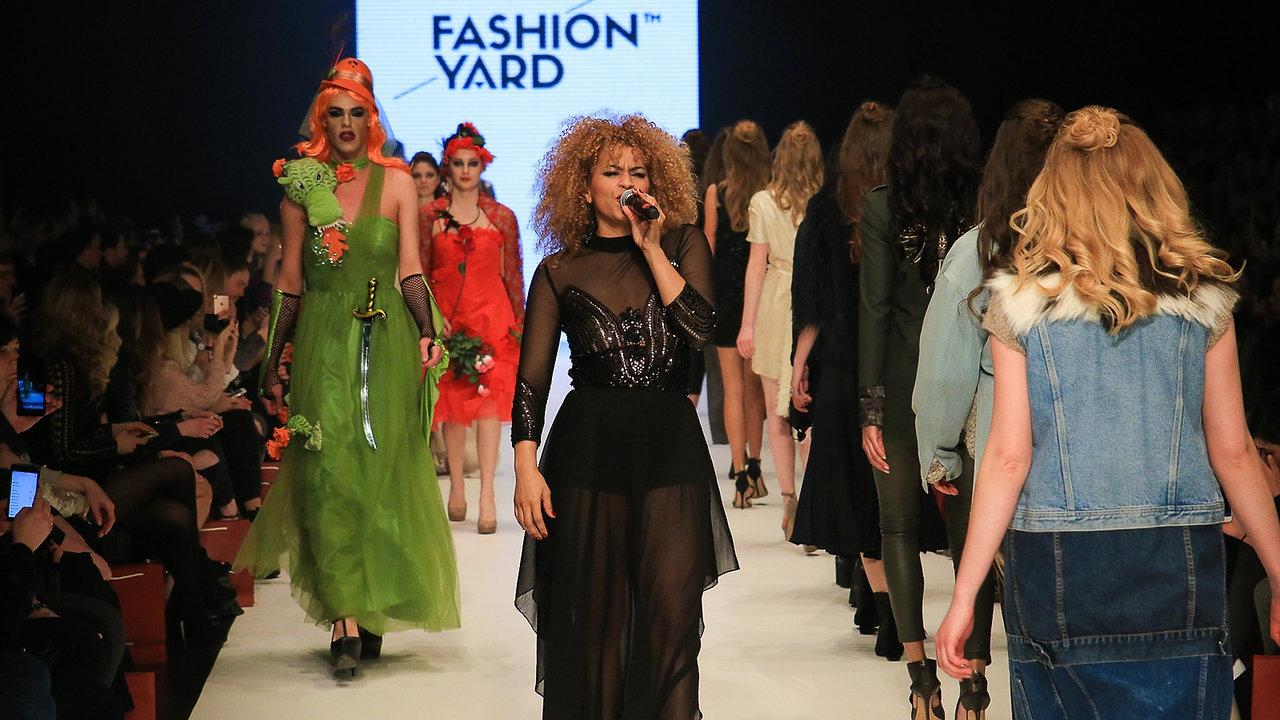 Frau Frohnatur meets Fashion Yard