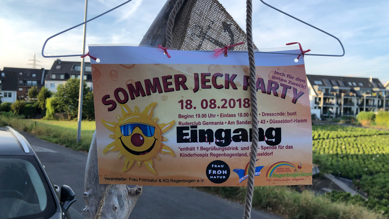 Sommer Jeck Party 2018
