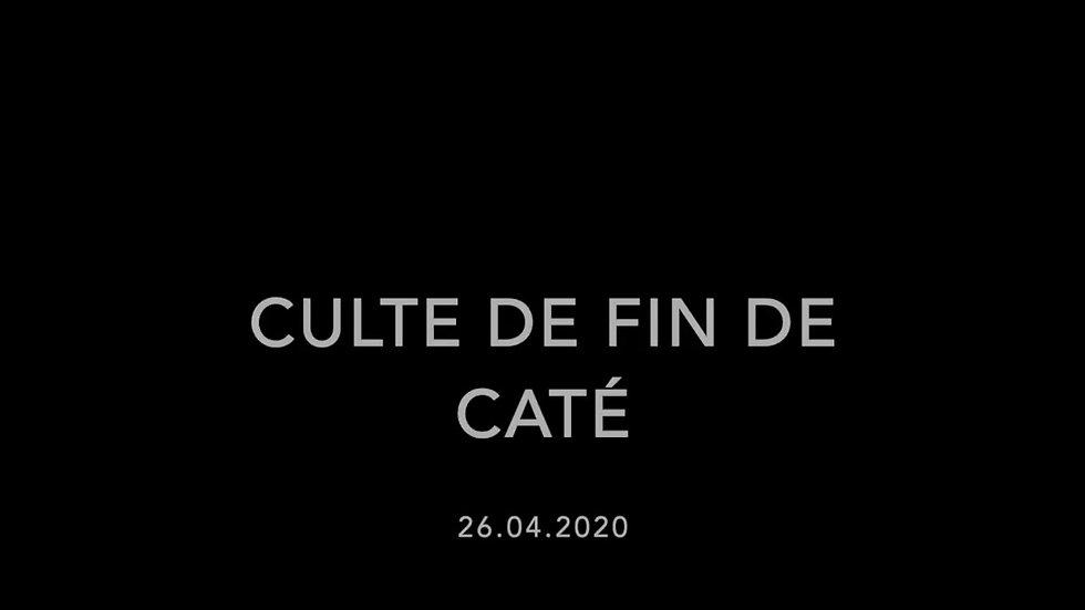 Culte du 26-04-20