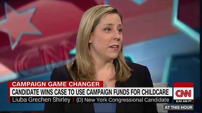 Liuba Grechen Shirley wins case to use campaign funds for childcare