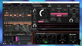 Arturia ARP 2600 through Unfiltered Sandman Pro & SoundToys FilterFreak