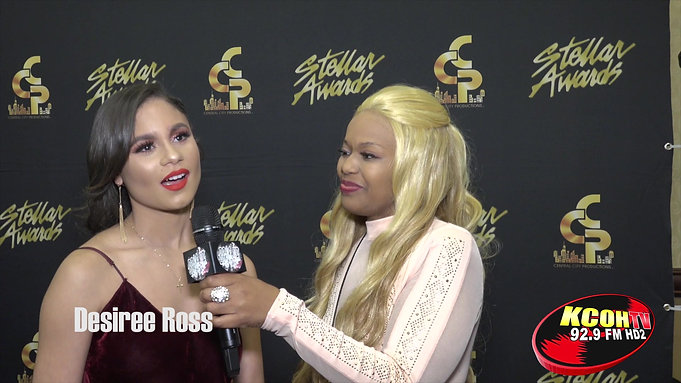 Boss UP Houston Stellar Awards Backstage Edition with Chimere