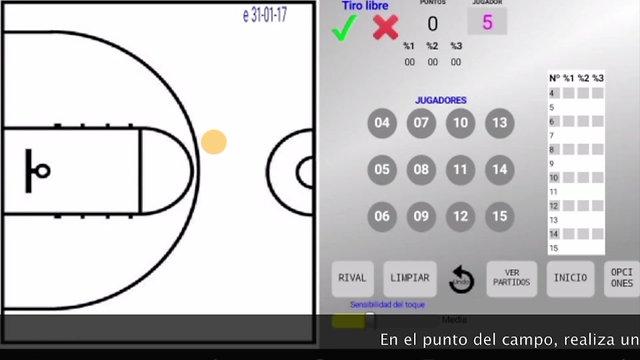 BasketBall Score Zone