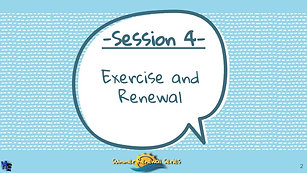 Summer Renewal Series Session #4