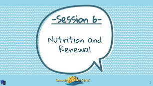 Summer Renewal Series Session #6