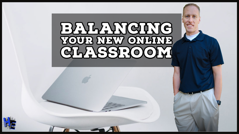 Balancing Your Online Classroom-Video #1