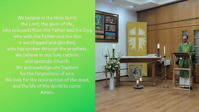 24/10 - The Last Sunday after Trinity