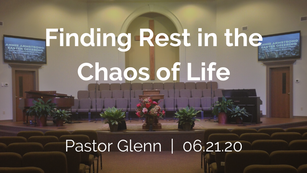 Finding Rest in the Chaos of Life