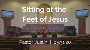 Sitting at the Feet of Jesus