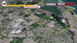 Mapa de la Ruta UAGM Bike Tour 2019