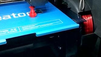 3D print of parts