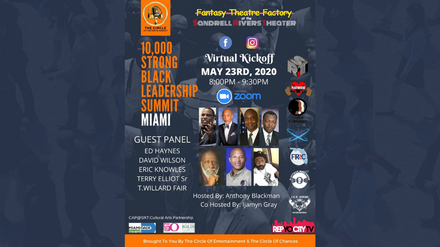 VIRTUAL KICKOFF 10,000 Strong Black Leadership Summit Miami
