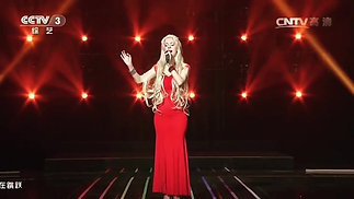 Daniela Bessia Singing La Vie en Rose for the Chinese National Television