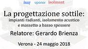 La progettazione sottile - Verona