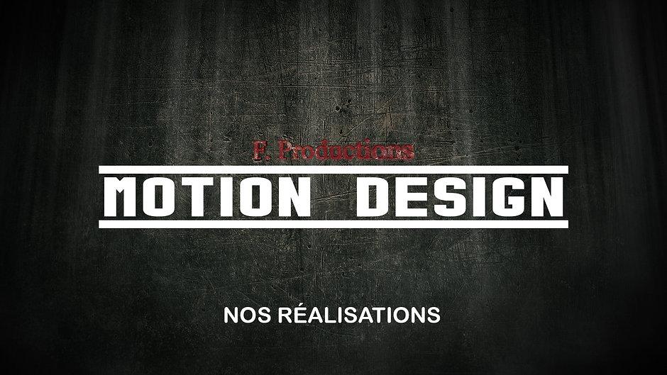 Vidéos Motion Design