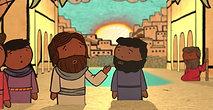 Jesus Healed a Blind Man
